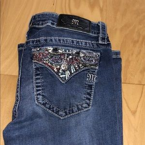 Miss Me light wash boot cut jeans